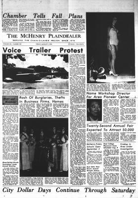 McHenry Plaindealer (McHenry, IL), 7 Aug 1970
