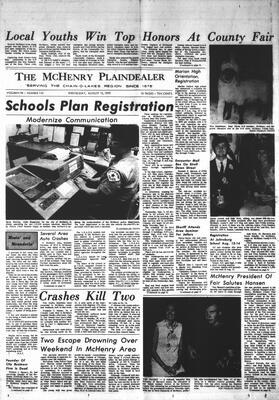 McHenry Plaindealer (McHenry, IL), 12 Aug 1970
