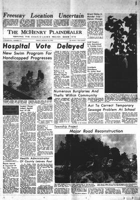McHenry Plaindealer (McHenry, IL), 14 Aug 1970