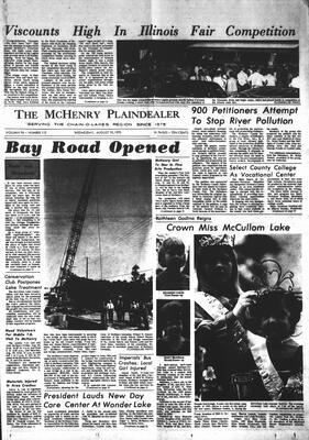 McHenry Plaindealer (McHenry, IL), 19 Aug 1970