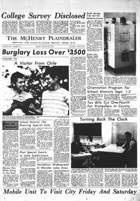 McHenry Plaindealer (McHenry, IL), 28 Aug 1970