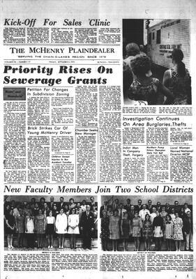 McHenry Plaindealer (McHenry, IL), 4 Sep 1970