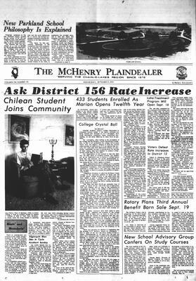 McHenry Plaindealer (McHenry, IL), 9 Sep 1970