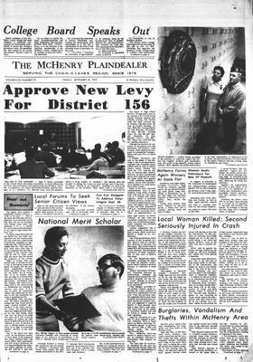 McHenry Plaindealer (McHenry, IL), 18 Sep 1970