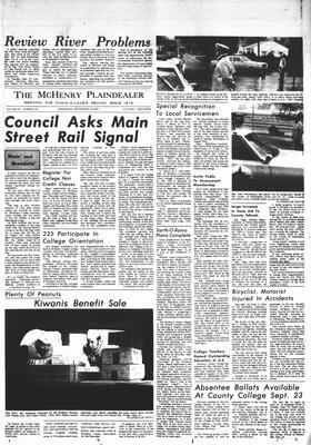 McHenry Plaindealer (McHenry, IL), 23 Sep 1970