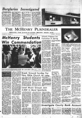 McHenry Plaindealer (McHenry, IL), 2 Oct 1970