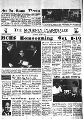 McHenry Plaindealer (McHenry, IL), 7 Oct 1970