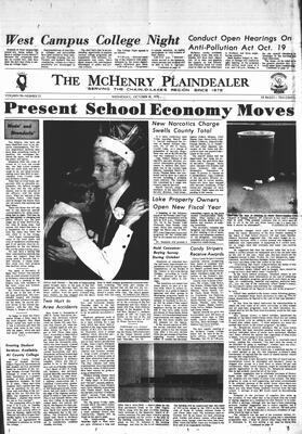 McHenry Plaindealer (McHenry, IL), 14 Oct 1970
