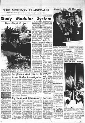 McHenry Plaindealer (McHenry, IL), 23 Oct 1970