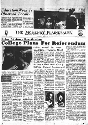McHenry Plaindealer (McHenry, IL), 28 Oct 1970