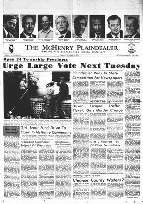 McHenry Plaindealer (McHenry, IL), 30 Oct 1970