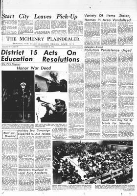 McHenry Plaindealer (McHenry, IL), 13 Nov 1970
