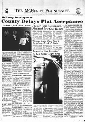 McHenry Plaindealer (McHenry, IL), 18 Nov 1970