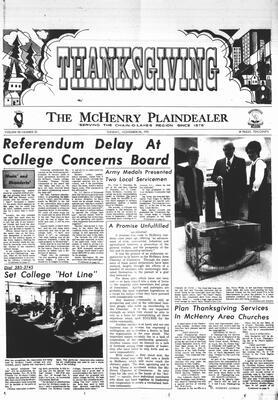 McHenry Plaindealer (McHenry, IL), 24 Nov 1970