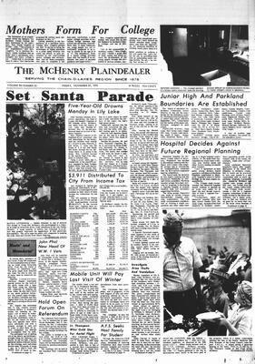 McHenry Plaindealer (McHenry, IL), 27 Nov 1970