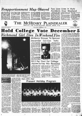McHenry Plaindealer (McHenry, IL), 2 Dec 1970