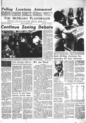 McHenry Plaindealer (McHenry, IL), 4 Dec 1970