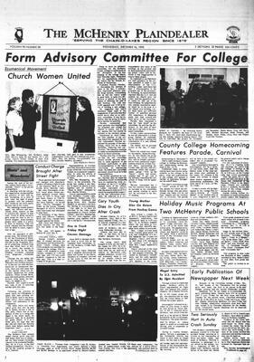 McHenry Plaindealer (McHenry, IL), 16 Dec 1970