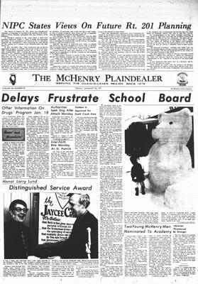 McHenry Plaindealer (McHenry, IL), 15 Jan 1971