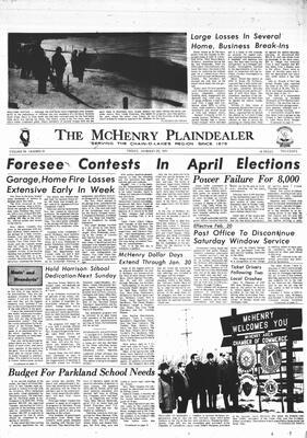 McHenry Plaindealer (McHenry, IL), 29 Jan 1971