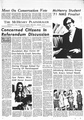 McHenry Plaindealer (McHenry, IL), 17 Feb 1971