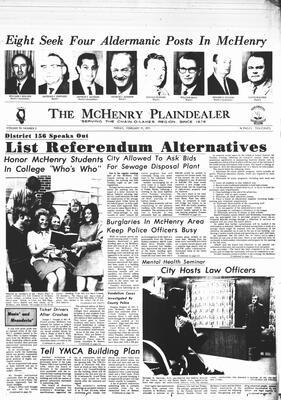 McHenry Plaindealer (McHenry, IL), 19 Feb 1971