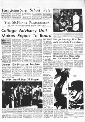 McHenry Plaindealer (McHenry, IL), 3 Mar 1971