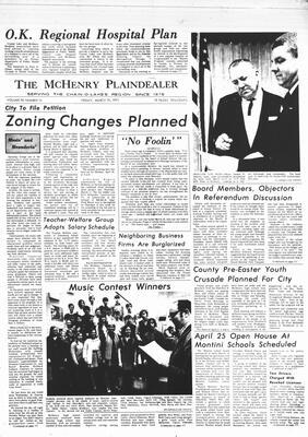 McHenry Plaindealer (McHenry, IL), 19 Mar 1971