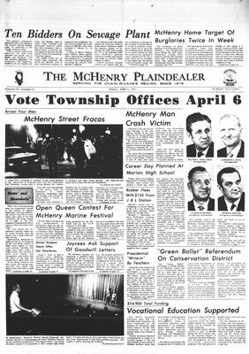 McHenry Plaindealer (McHenry, IL), 2 Apr 1971