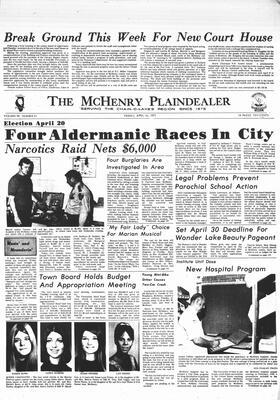 McHenry Plaindealer (McHenry, IL), 16 Apr 1971