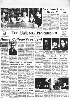 McHenry Plaindealer (McHenry, IL), 21 Apr 1971