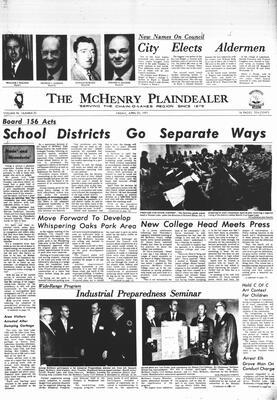 McHenry Plaindealer (McHenry, IL), 23 Apr 1971