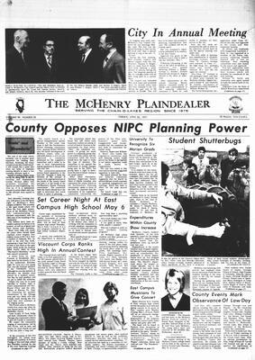 McHenry Plaindealer (McHenry, IL), 30 Apr 1971