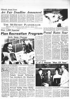 McHenry Plaindealer (McHenry, IL), 12 May 1971