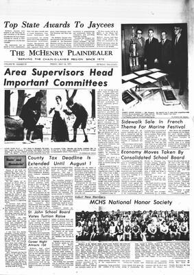 McHenry Plaindealer (McHenry, IL), 14 May 1971