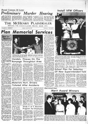 McHenry Plaindealer (McHenry, IL), 28 May 1971