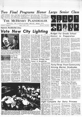 McHenry Plaindealer (McHenry, IL), 11 Jun 1971