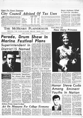 McHenry Plaindealer (McHenry, IL), 25 Jun 1971