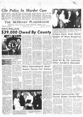 McHenry Plaindealer (McHenry, IL), 2 Jul 1971