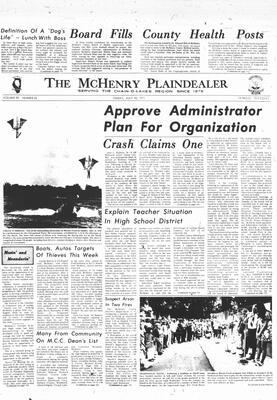 McHenry Plaindealer (McHenry, IL), 16 Jul 1971