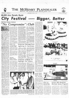 McHenry Plaindealer (McHenry, IL), 21 Jul 1971