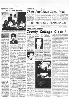 McHenry Plaindealer (McHenry, IL), 28 Jul 1971
