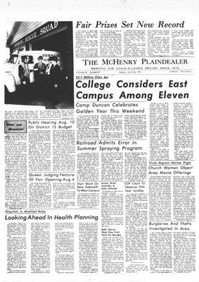 McHenry Plaindealer (McHenry, IL), 30 Jul 1971