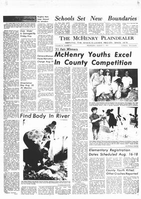 McHenry Plaindealer (McHenry, IL), 11 Aug 1971