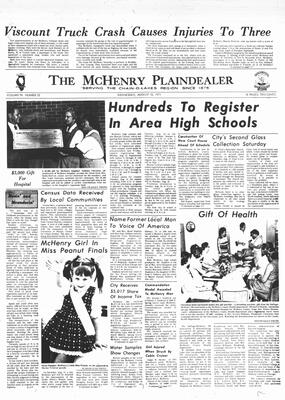 McHenry Plaindealer (McHenry, IL), 18 Aug 1971