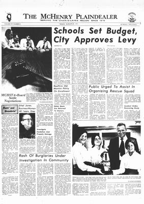 McHenry Plaindealer (McHenry, IL), 20 Aug 1971