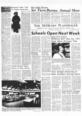McHenry Plaindealer (McHenry, IL), 25 Aug 1971