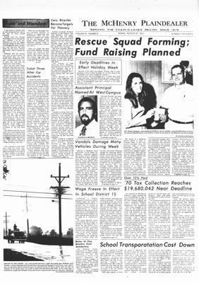 McHenry Plaindealer (McHenry, IL), 27 Aug 1971