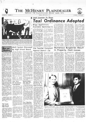 McHenry Plaindealer (McHenry, IL), 3 Sep 1971