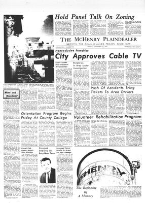 McHenry Plaindealer (McHenry, IL), 10 Sep 1971